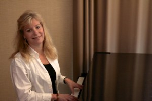 Victoria Adams at Piano